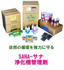サナ浄化槽管理製品