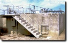 排水処理施設の改善工事
