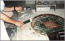 臭気測定の現場
