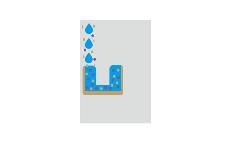 排⽔管の詰まりの原因